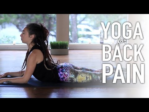 Yoga For Back Pain - 20 Minute Back Stretches For Sciatica Pain and Flexibility