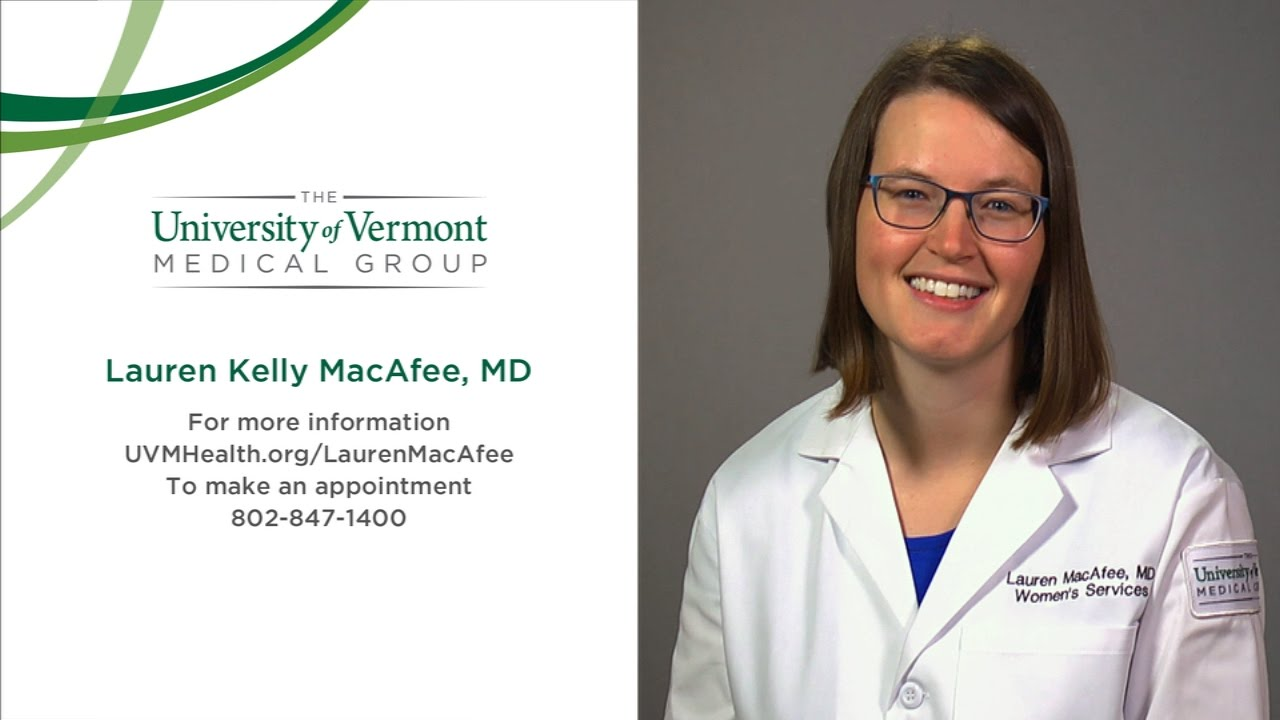 Lauren MacAfee, MD, Obstetrician and Gynecologist, Burlington, VT
