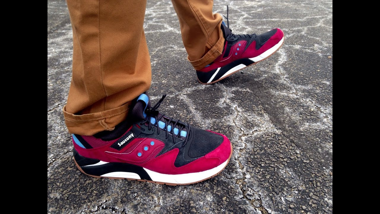 saucony 9000 on feet