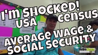 USA Census Average Wage and Social Security Payments