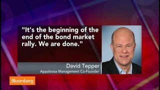 David Tepper: ECB Rate Cut Beginning of the End of Bond Rally