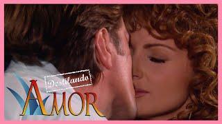 Destilando amor: ¡Gaviota y Santoveña se besan! | Escena - C 90