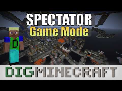 How to switch to Spectator mode in Minecraft