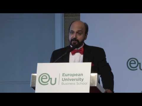 Dr. R. Seetharaman CEO of Doha Bank - EU Business School Barcelona, Geneva and Munich