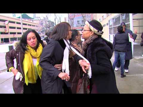 Outrage Continues Outside 36th District Court