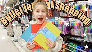 Bullet Journal Shopping Vlog and Shopping Haul! | Bullet journal ideas