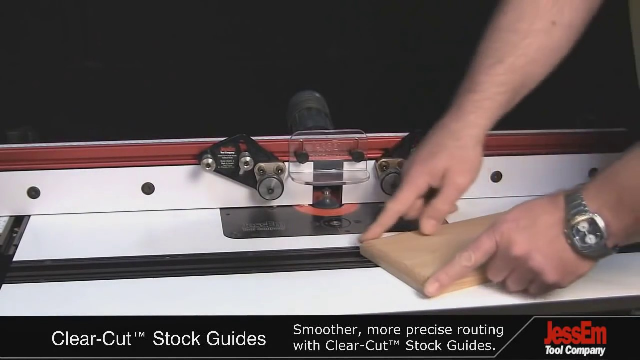 Jessem Clear Cut Stock Guides Youtube