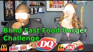 Jane and JV's Blind Fast Food Burger Challenge