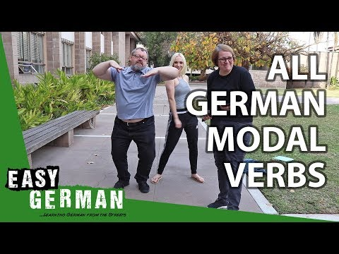 Learn all German Modal Verbs in 8 Minutes | Super Easy German (91)