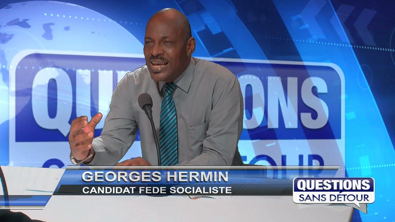 GEORGES HERMIN - CANDIDAT FEDERATION SOCIALISTE est l'invité de QSD sur ETV