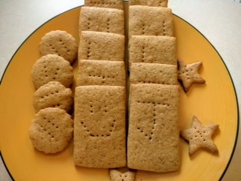 Receta galletas graham