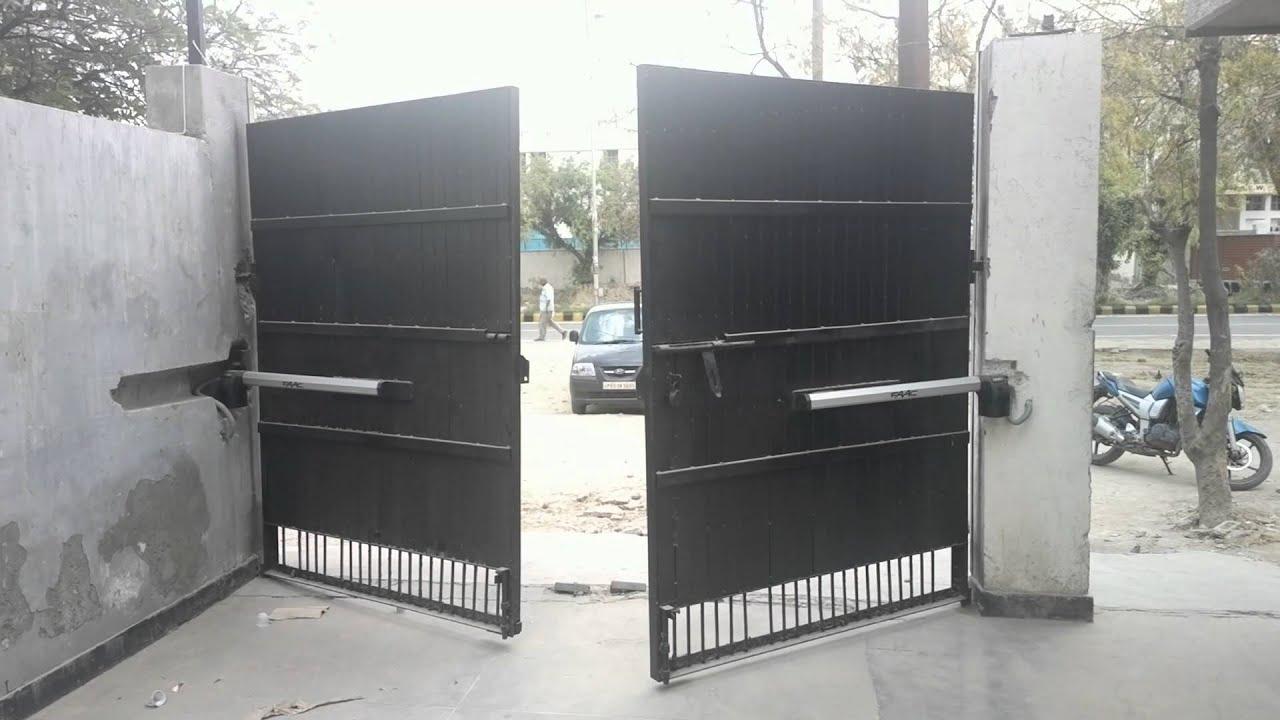 Faac Automatic Swing Gate Demo Jack Enterprises