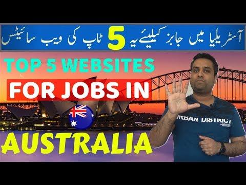 Top 5 Websites For Jobs In Australia  | Visa Guru
