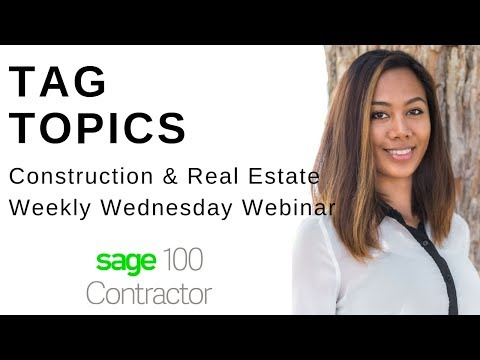 Construction Payroll Reports in Sage 100 Contractor | Best Practices