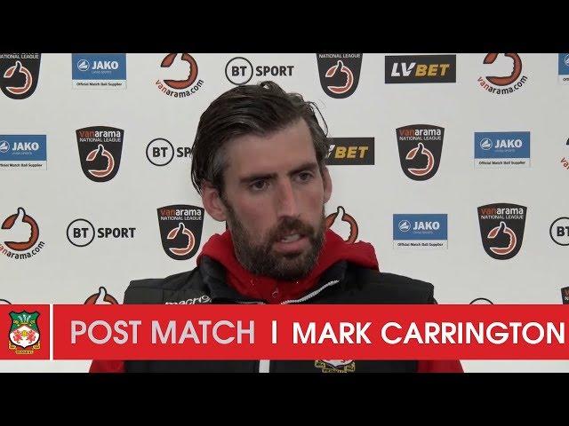WATCH | Mark Carrington after Eastleigh