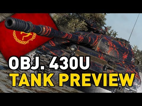 World of Tanks || Object 430U - Tank Preview