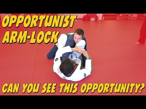 You do not need to be fast, just anticipate the Future ArmBar