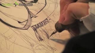 森薫「乙嫁語り」の現場から その4:ペン入れⅢ thumbnail