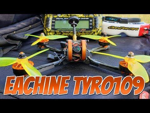 Фото ✔ Полеты на Eachine Tyro109 - Бюджетный FPV Квадрокоптер! 97$ Лето 2019