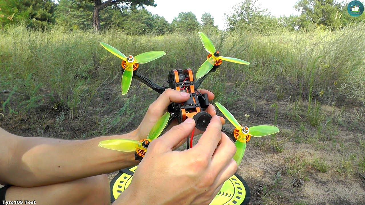 ✔ Полеты на Eachine Tyro109 - Бюджетный FPV Квадрокоптер! 97$ Лето 2019 картинки