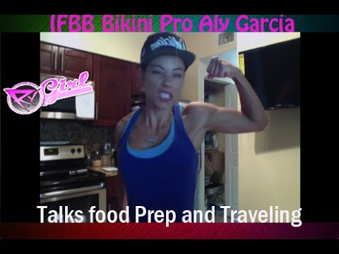 Aly Garcia talks Food Prep and Traveling