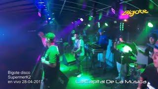 Supermerk2 - Bigote disco │ EN VIVO