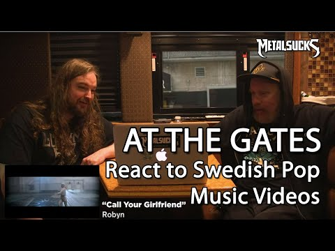 AT THE GATES React to Swedish Pop Music Videos