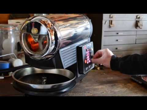 Coffee Roasting-Hottop KN8828B-2K+ 2017-Costa Rica Black Honey-Cafe Moto
