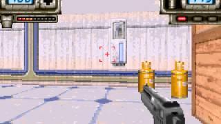 Duke Nukem Advance (GBA) Level 1 - Vizzed.com Play
