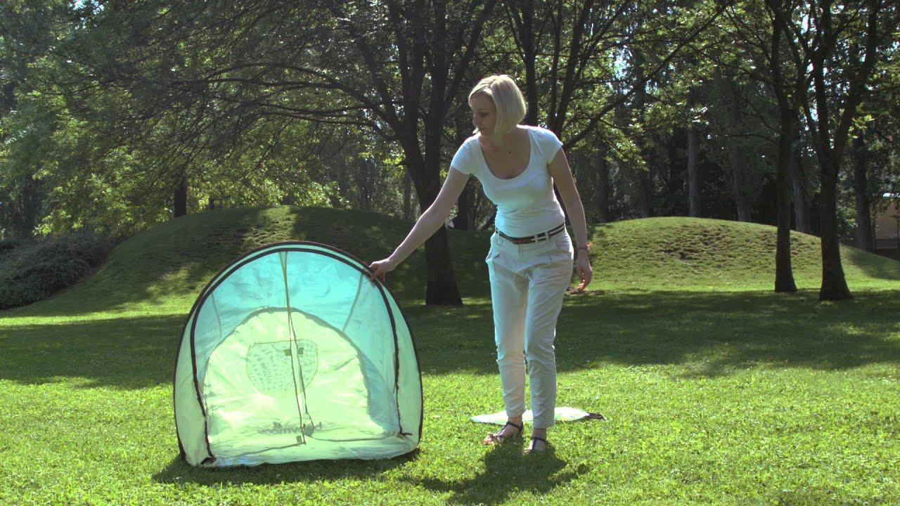 & Anti-UV tent Babymoov - YouTube