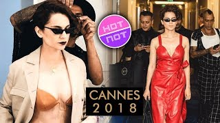 Cannes 2018 | Kangana Ranaut Stuns In A RED HOT Dress | New Look Out