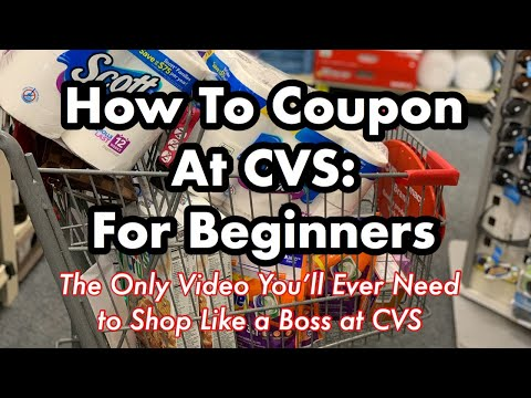 How to Coupon at CVS for Beginners in 2020 | Learn How to Shop For Free | Couponing 101