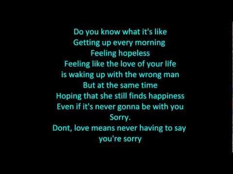 everything you wanted - fozzey and vanc lyrics