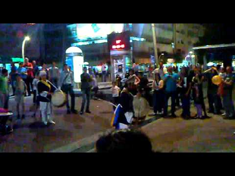 National South Korea Music and Dance in center of Podgorica - Montenegro