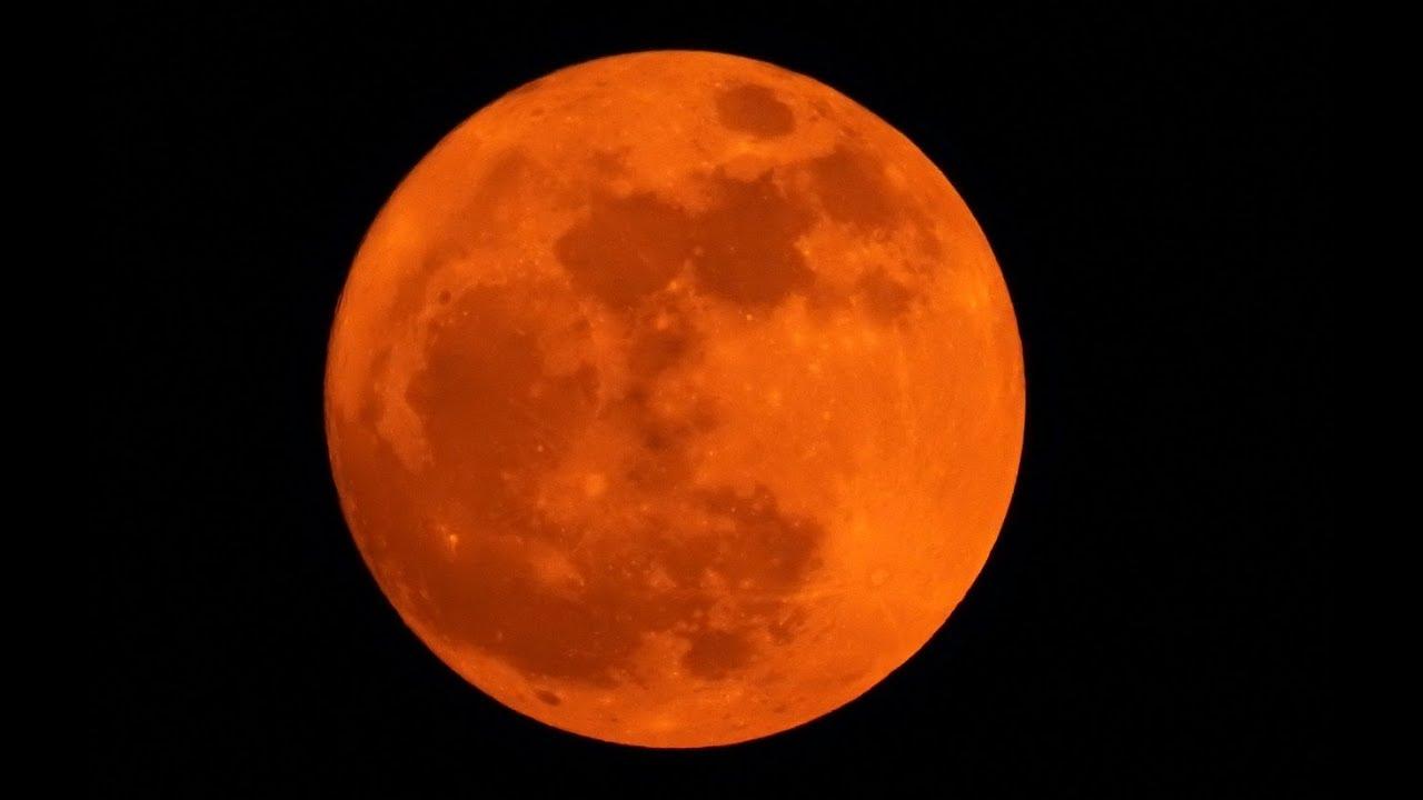 Super Moon 2017 Nikon P900   Blood Moon - YouTube