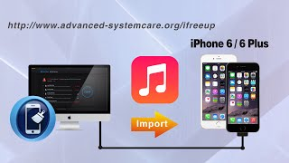 How to Import Music iPhone 6S PlusS Plus/6 Plus from Computer without iTunes via iFreeUp