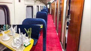 First Luxurious Red Carpet Train in Pakistan | Jinnah Express At Lahore
