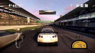 Need For Speed Shift 2 Unleashed First Race Gameplay / Review (HD) Xbox 360 Commentary