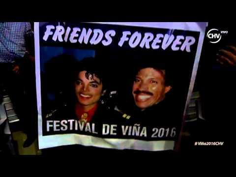 Lionel Richie, We are the World, Festival de Viña del Mar 2016