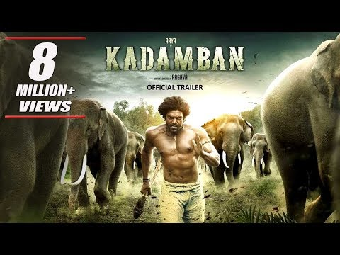 Kadamban (Hindi) Official Trailer | Arya,...