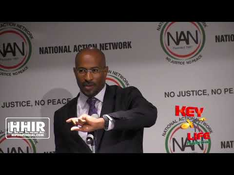 VAN JONES OUTLINES THE FORMULAS OF POWER: TECH, WALL STREET, SILICON VALLY & MEDIA