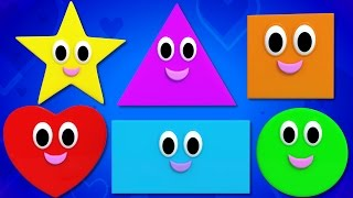shapes song | shapes rhymes | we are shapes | shape song | shape songs for kids | Kids TV thumbnail