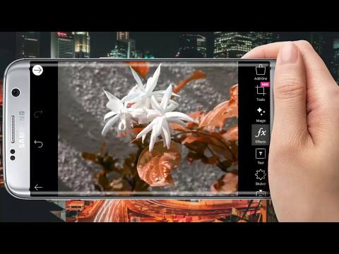 PicsArt flowers photo editing best tutorial |Painting effect | thumbnail