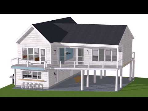 Small Beach House Plans On Pilings