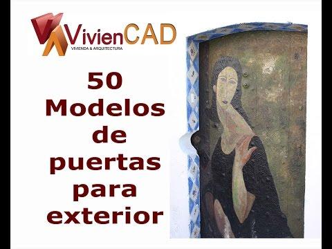 50 Modelos de puertas para exteriores