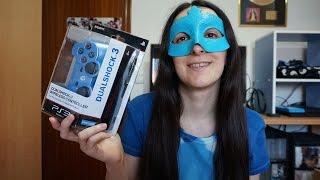 PS3 Dualshock 3 Wireless Controller (Candy Blue) [Unboxing en español]