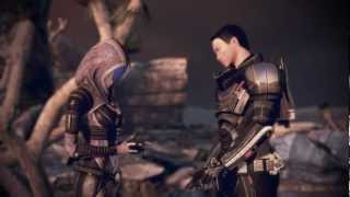 ME3 - Tali and Shepard - A piece of homeworld - Keelah Se