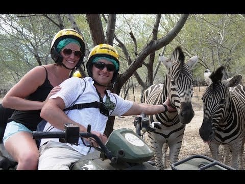 African Safari, Mauritius!  Casela Nature Park, ATV Safari Tour
