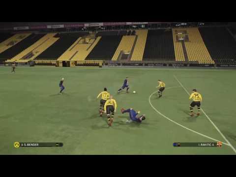 PES 2017 Borussia Dortmund vs FC Barcelona  Training