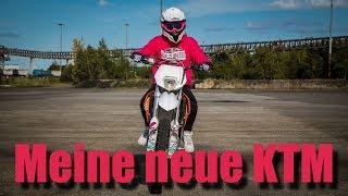 Meine neue KTM - Supermoto Umbau   Teil 1